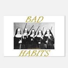 Bad Habits Postcards (Package of 8)