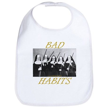 Bad Habits Bib