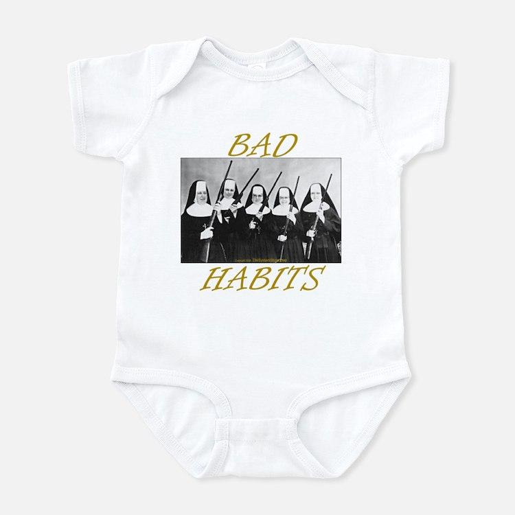 Bad Habits Infant Bodysuit
