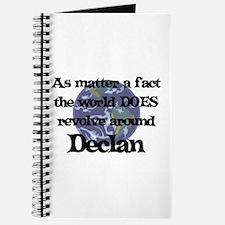 World Revolves Around Declan Journal