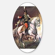 Hussar Sticker (Oval)