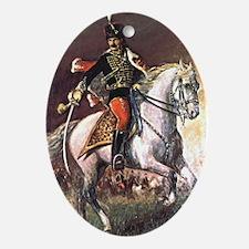 Hussar Ornament (Oval)
