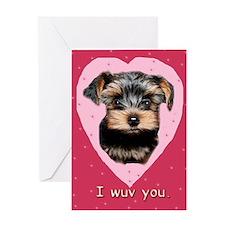 I Wuv You. Greeting Card