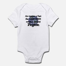 World Revolves Around Peyton Infant Bodysuit