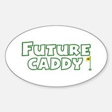 Future Caddy Oval Decal
