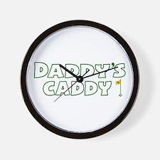 Daddy's Caddy Wall Clock