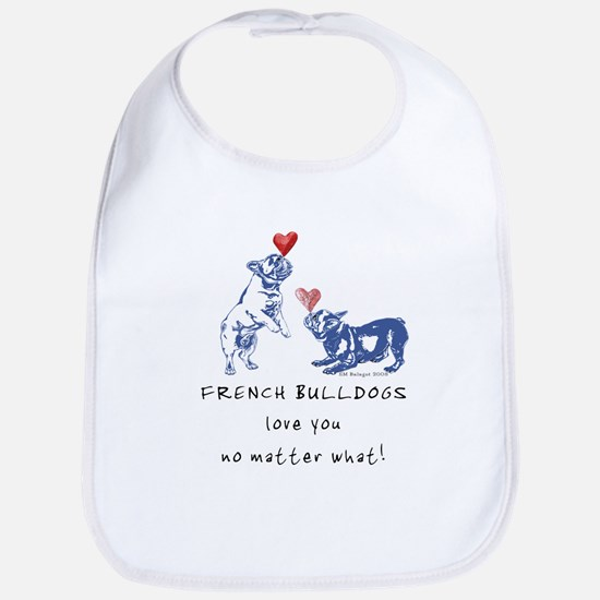 No Matter What (NAVY) Bib