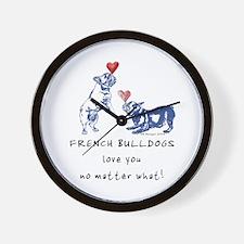 No Matter What (NAVY) Wall Clock
