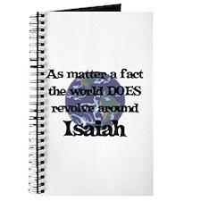 World Revolves Around Isaiah Journal