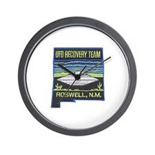 UFO Recovery Team Wall Clock