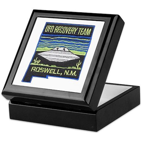 UFO Recovery Team Keepsake Box