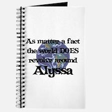 World Revolves Around Alyssa Journal
