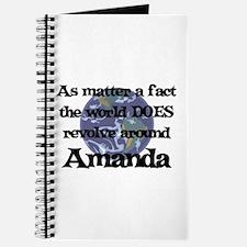 World Revolves Around Amanda Journal