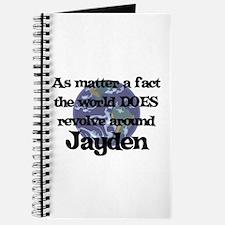 World Revolves Around Jayden Journal