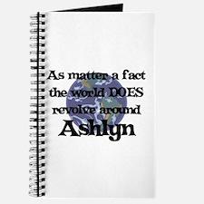 World Revolves Around Ashlyn Journal