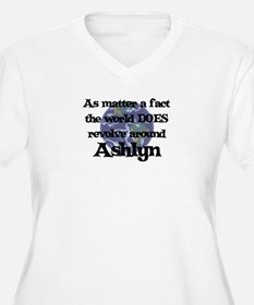 World Revolves Around Ashlyn T-Shirt