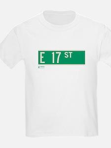 17th Street in NY T-Shirt