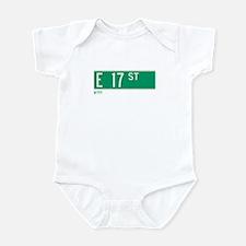 17th Street in NY Infant Bodysuit