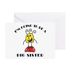 I'm Going To Be A Big Sister Greeting Cards (Pk of
