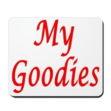 My Goodies Mousepad
