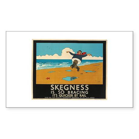 skegness Rectangle Sticker