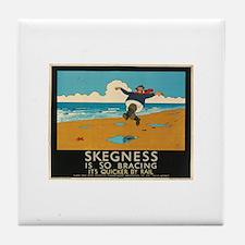 skegness Tile Coaster