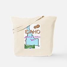 Cool Idaho potatoes Tote Bag