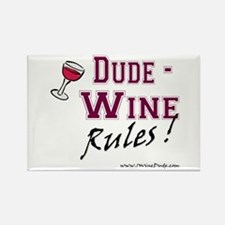 Wine Rules Magnet