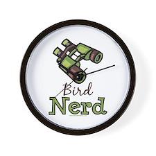 Bird Nerd Birding Ornithology Wall Clock