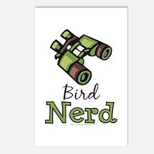 Bird Nerd Birding Ornithology Postcards 8 Pack