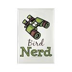 Bird Nerd Birding Ornithology Magnet 10 Pack