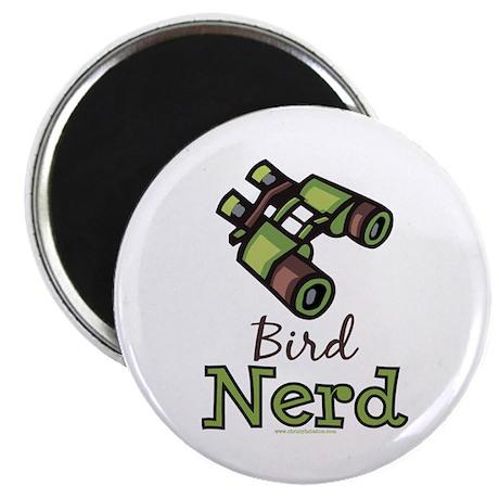 "Bird Nerd Birding Ornithology 2.25"" Magnet 10 pk"