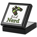 Bird Nerd Birding Ornithology Keepsake Box
