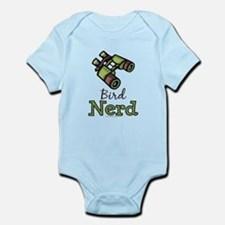 Bird Nerd Birding Ornithology Infant Onesie