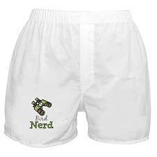 Bird Nerd Birding Ornithology Boxer Shorts
