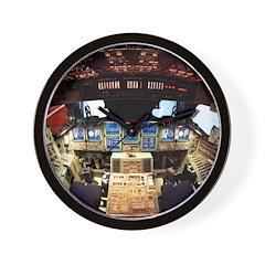 Spacecraft Bridge Wall Clock