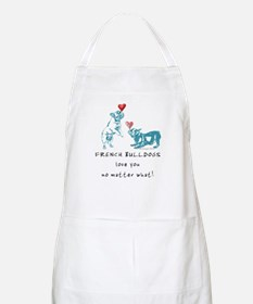 No Matter What (TEAL) BBQ Apron