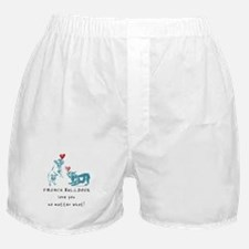 No Matter What (TEAL) Boxer Shorts