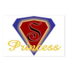 Super Princess Postcards (Package of 8)
