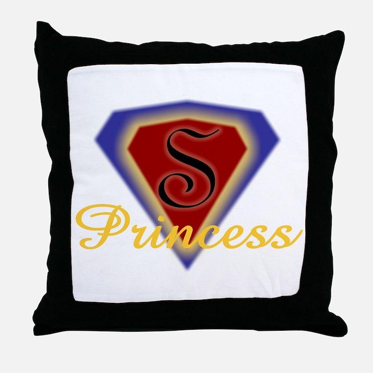 Super Princess Throw Pillow