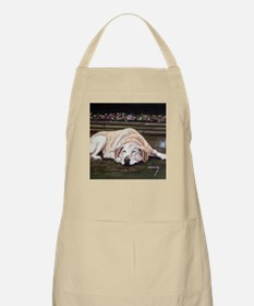 Sleeping Lab Grooming Apron