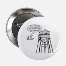"Anti Michigan Aliens 2.25"" Button (10 pack)"