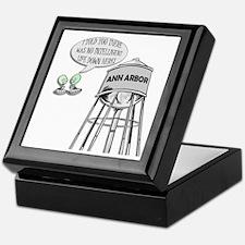 Anti Michigan Aliens Keepsake Box