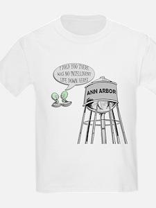 Anti Michigan Aliens T-Shirt