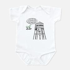 Anti Michigan Aliens Infant Bodysuit