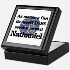 World Revolves Around Nathani Keepsake Box