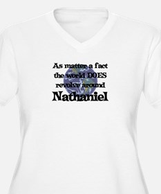 World Revolves Around Nathani T-Shirt