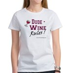 Wine Rules Women's T-Shirt