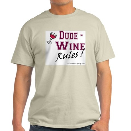Wine Rules Light T-Shirt