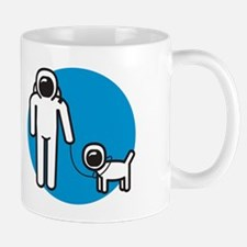 Spaceman + Spacedog Mug